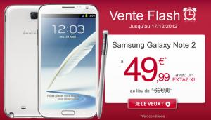 Virgin Mobile vend le Galacy Note 2 à 49,99 euros