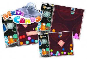 Captures d'écran du jeu flash Medi Candy sur Prizee