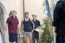 La star David Beckham