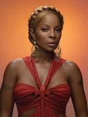 La chanteuse Mary J. Blige