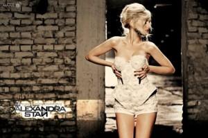 La chanteuse Alexandra Stan