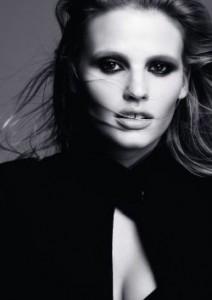 Le mannequin Lara Stone