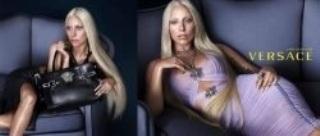 Lady Gaga bel et bien l'égérie de Versace !