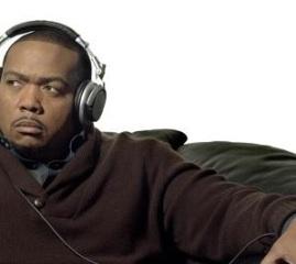 Le chanteur Timbaland