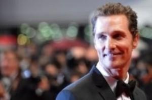 Le comédien Matthew McConaughey