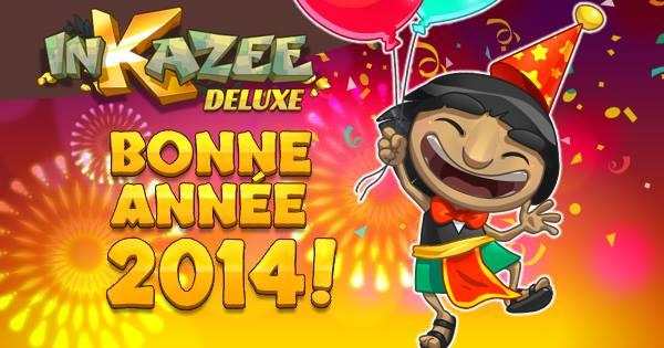 InKazee Deluxe : le jeu de série-3 pour bien entamer l'année