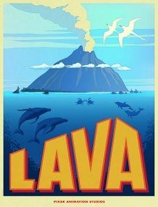 Affiche du court-métrage Lava