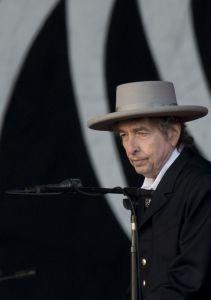 Le chanteur Bob Dylan