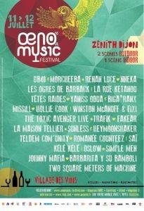 Oeno Music Festival de Dijon