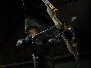 Le héros de la série Arrow