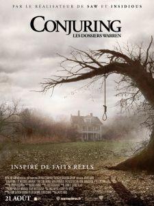 L'affiche de The Conjuring