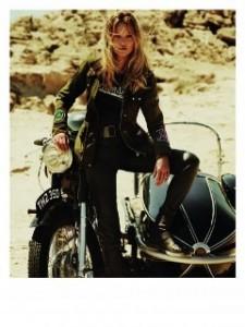 Le mannequin Kate Moss