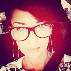 La chanteuse Sheryfa Luna