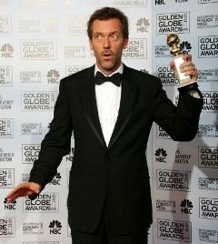 Le comédien Hugh Laurie