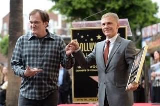 Christoph Waltz et Quentin Tarantino