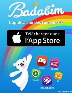 Application Badabim : les enfants profitent maintenant de nouveaux contenus