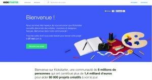 Kickstarter : La France accueillera bientôt la plateforme