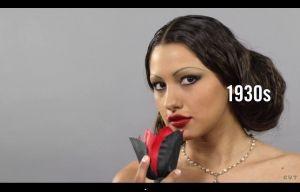 Maquillage et coiffure au Mexique : une vidéo résume 100 ans de beauté