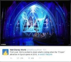 La Reine des neiges à Disney World