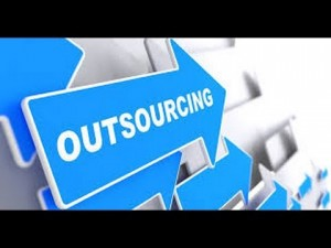 representation graphique outsourcing