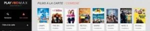 Regardez un film en toute tranquillité sur PlayVOD Max