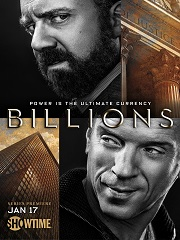La série « Billions » sera de retour prochainement © Showtime