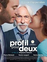 La comédie romantique française « Un Profil pour deux » à l'affiche © Courtesy of La Belle Company