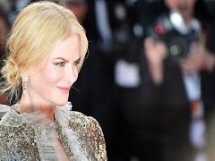 Nicole Kidman sur la Croisette pour son nouveau film © Alberto PIZZOLI/AFP