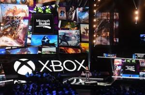 La console Project Scorpio : le nouveau pari de Xbox © Frederic J. Brown/AFP