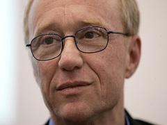 David Grossman, l'auteur primé pour son œuvre © AFP PHOTO JOHN MACDOUGALL