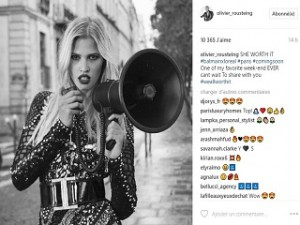 Balmain et L Oreal Paris lancent une campagne publicitaire de maquillage