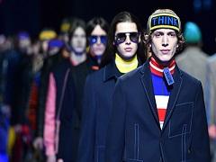 Mode masculine en Italie : les créations de Fendi seront présentées © GIUSEPPE CACACE/AFP