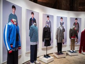 Le styliste Tommy Hilfiger a révélé sa collection lors du Pitti Immagine Uomo