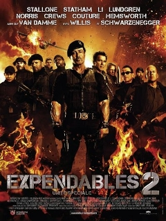 Box-office Relaxnews : Expendables 2 indétrônable au classement