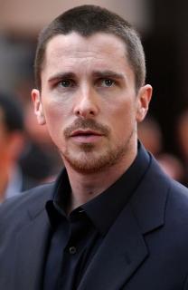 Christian Bale aux côtés de l'acteur Johnny Depp pour Transcendence