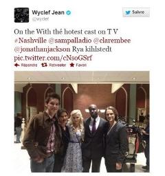 Nashville : la série accueillera bientôt le chanteur Wyclef Jean