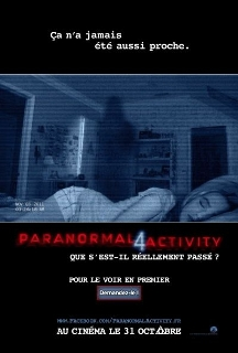 Box-office Relaxnews : Paranormal Activity s'affiche en tête du classement