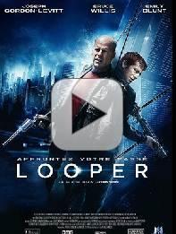 Le film à télécharger Looper, où les gêneurs ne font pas long feu