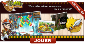 Le jeu en ligne Prizee Bubble Adventure
