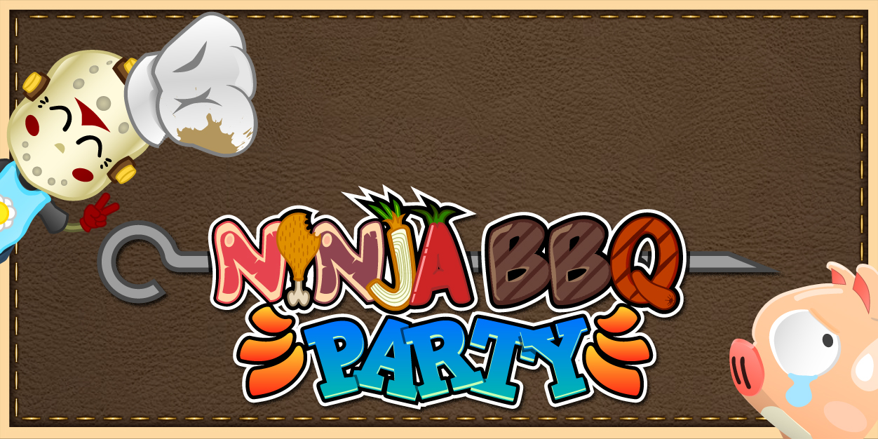 L'application Ninja Barbecue Party pour smartphone et tablette