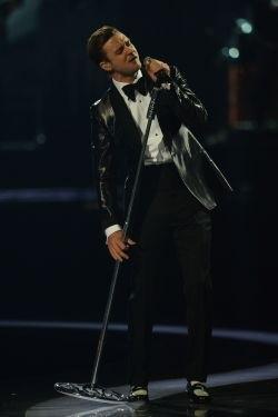 Justin Timberlake au Stade de France le 26 avril 2014