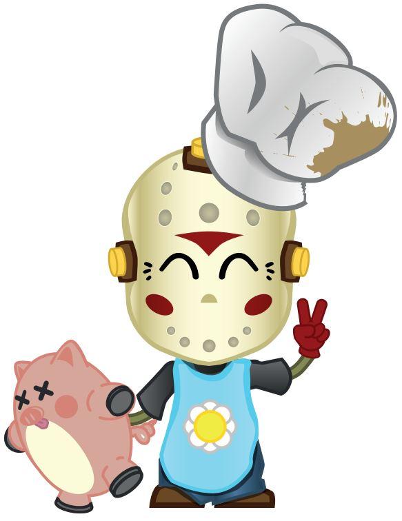 L'application Ninja Barbecue Party, le jeu mobile pour gloutons