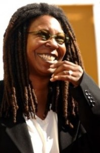 La comédienne Whoopi Goldberg