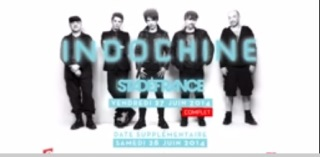 Belfast : single d'Indochine, Black City Parade et sonneries sur m.Zikiz