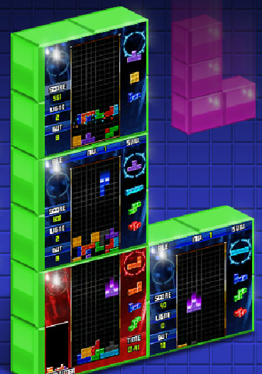 Le jeu mobile Tetris sur le site de M-games-club