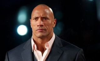 L'acteur Dwayne Johnson