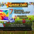 Prizee vous présente le jeu flash Summer Fakir