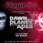 Plague Inc. : de nouvelles mises à jour issues de La Planète des singes