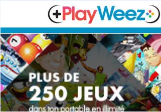 Le site m.Playweez