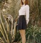 Gia Coppola : à la une de la campagne de Superga x Rodarte